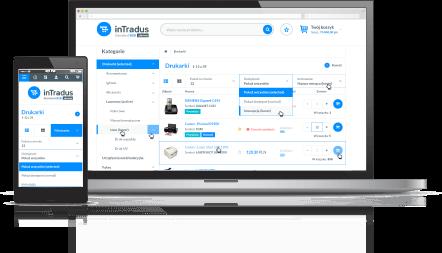 inTradus start platforma B2B responsive