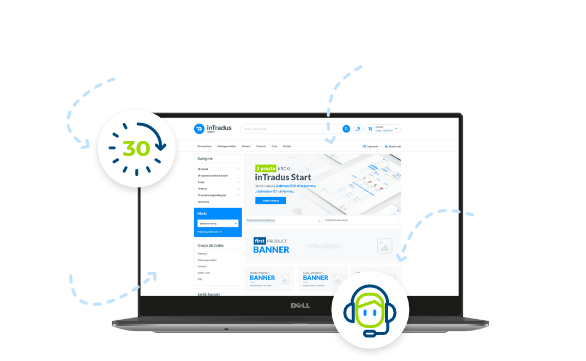 Platforma B2B - prezentacja screen